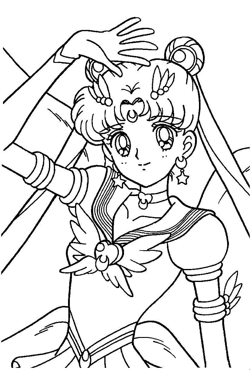 Coloriage manga - Coloriage manga fille ...